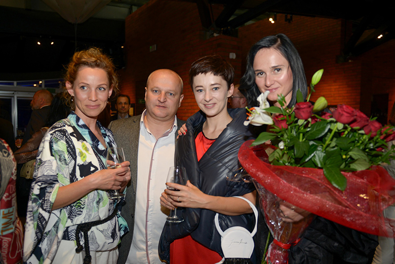 Magda Korcz (HUSH Warsaw), Tomasz Szczepanik, Joanna Kruczek, Joanna Hawrot/fot. Łukasz Łuszczek