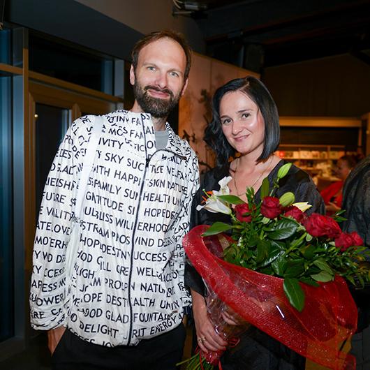 Rafał Stanowski (Szef Działu Kultury, Lounge Magazyn), Joanna Hawrot/fot. Łukasz Łuszczek