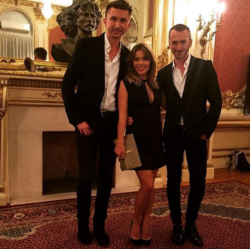 Edyta Herbuś po pokazie z duetem Paprocki&Brzozowski/Instagram: @paprockibrzozowski