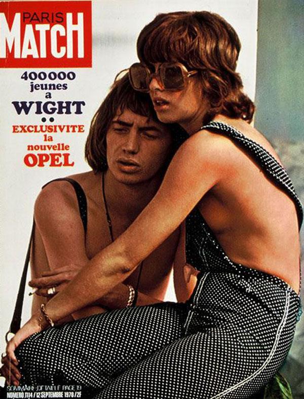 Okładka magazynu Paris Match z 1970 roku