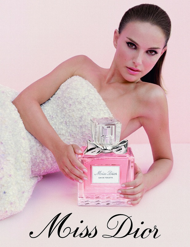 Natalie Portman w kampanii zapachu Miss Dior