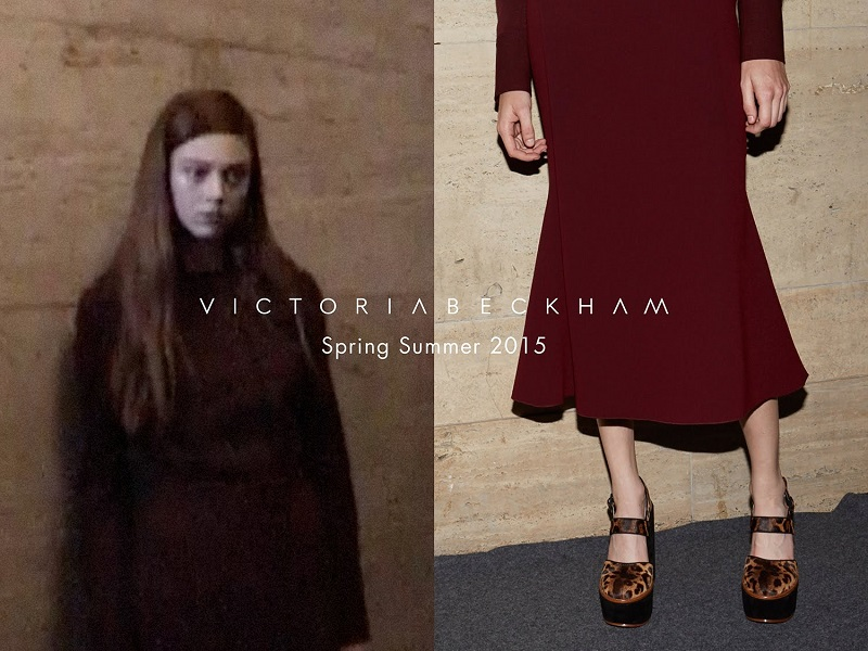 Victoria Beckham wiosna-lato 2015