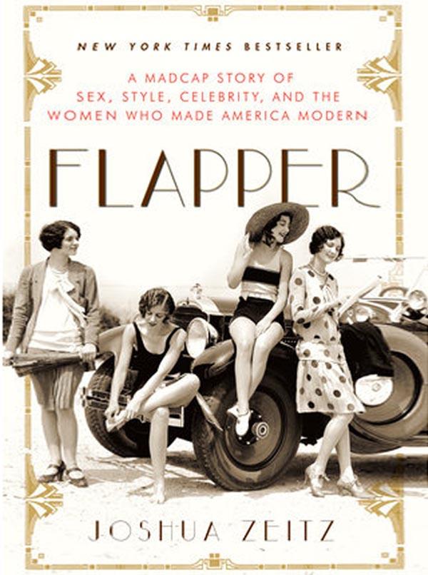 "Okładka książki Joshua Zeitza ""Flapper"""
