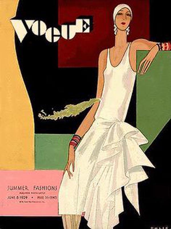 Okładka magazynu Vogue Vintage - lipiec 1929