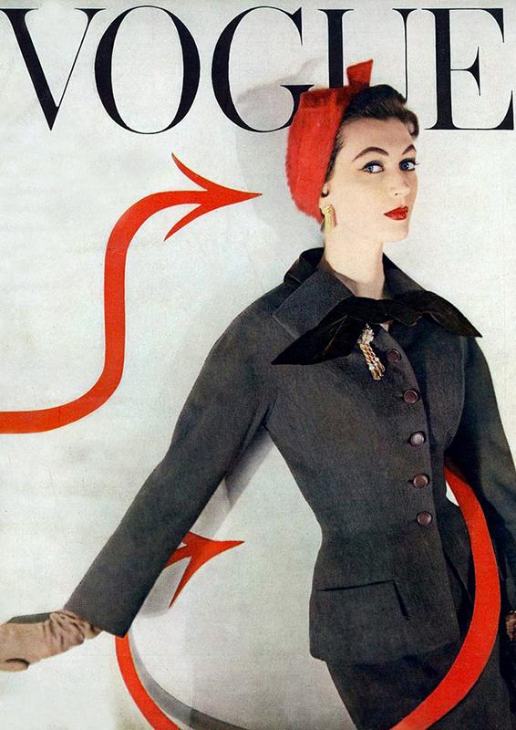 Dovima na okładce Vogue'a