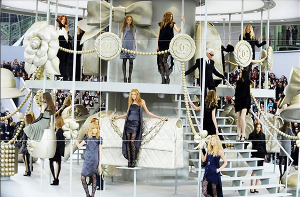 Pokaz Chanel jesień-zima 2007/08/Instagram