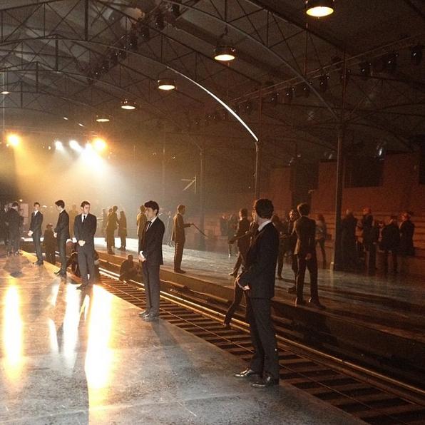 Pokaz Louis Vuitton jesień-zima 2012/13/Instagram