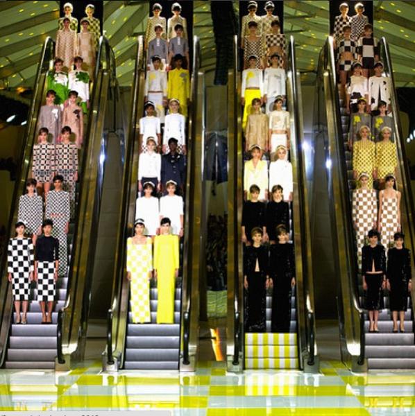 Pokaz Louis Vuitton wiosna-lato 2013/Instagram