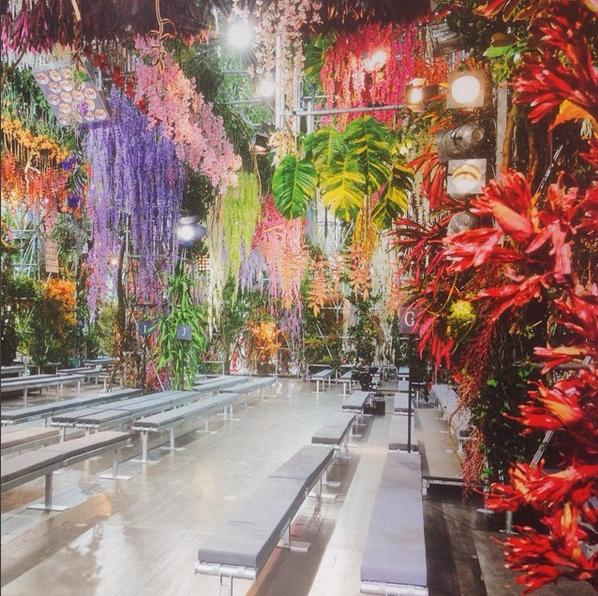 Pokaz Diora wiosna-lato 2014/Instagram