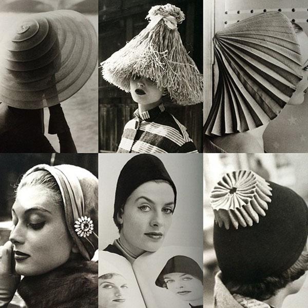 Kapelusze w latach 1940-50/Instagram_@hollygaboriault