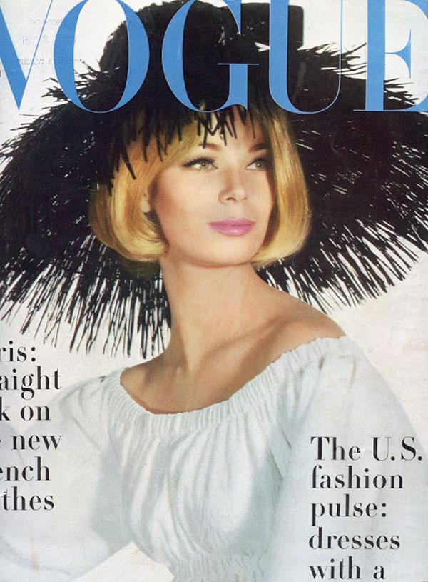Okładka magazynu Vogue Marzec 1963 rok