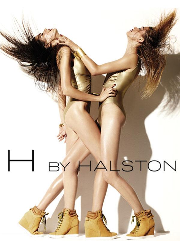 Kampania reklamowa H by Halston Athletics 2011