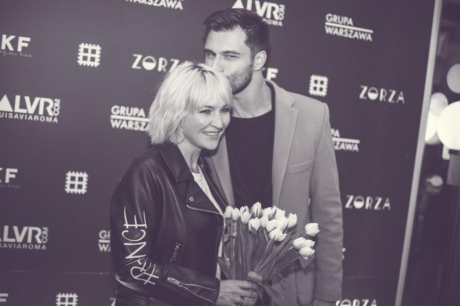 Anna Puślecka i Mateusz Hładki, dziennikarz DD TVN/fot. Agnieszka Taukert dla DYKF