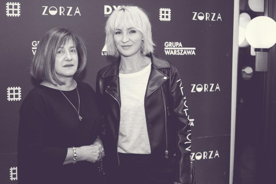 Krystyna Kaszuba i Anna Puślecka/fot. Agnieszka Taukert dla DYKF