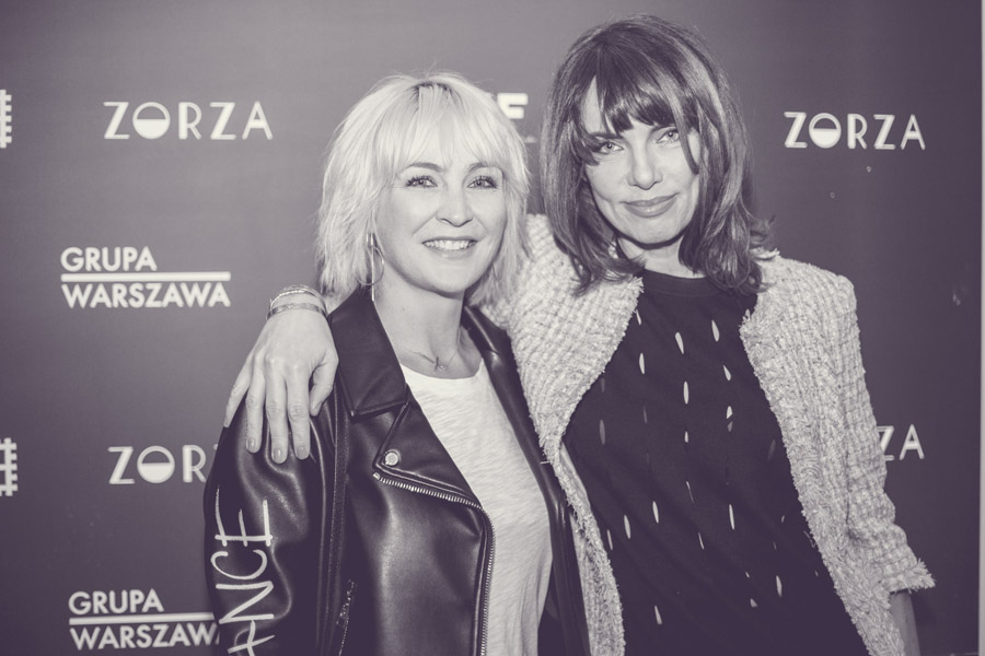 Anna Puślecka i Joanna Góra, redaktor naczelna Harpers Bazaar/fot. Agnieszka Taukert dla DYKF