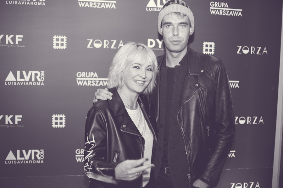 Anna Puślecka i Marcin Świderek, szef działu mody Elle/fot. Agnieszka Taukert dla DYKF