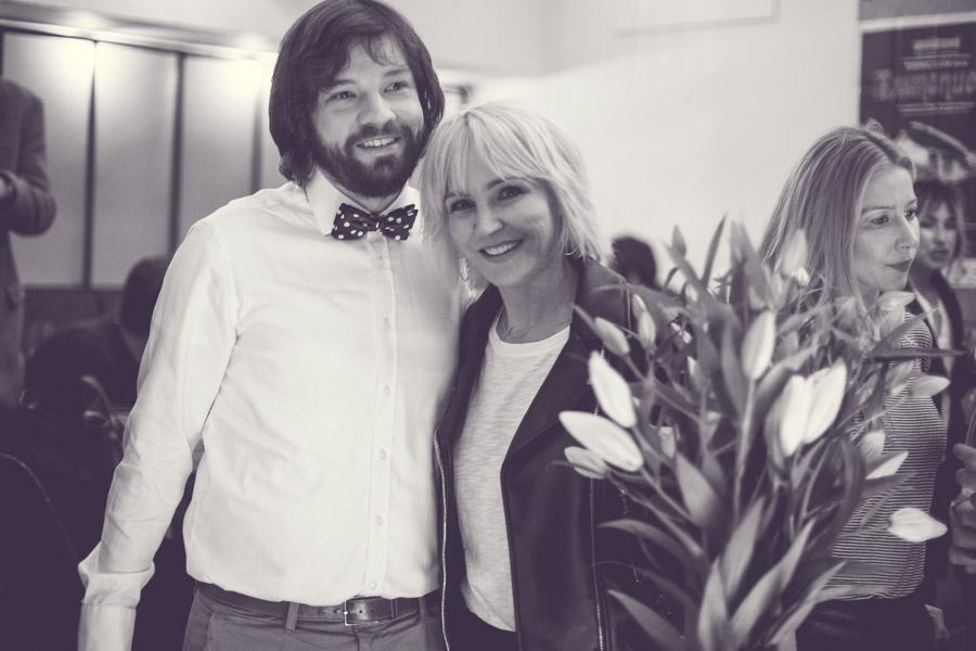 Anna Puślecka z bratem Mateuszem/fot. Agnieszka Taukert dla DYKF