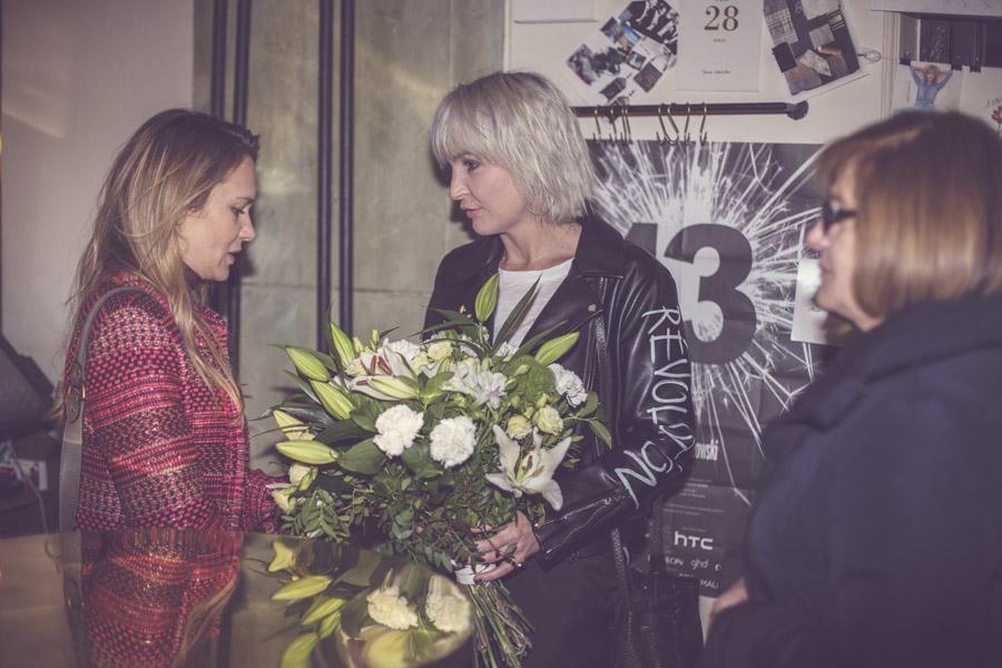 Zuzanna Wachowiak z Bizuu, Anna Puślecka i Krystyna Kaszuba/fot. Agnieszka Taukert dla DYKF