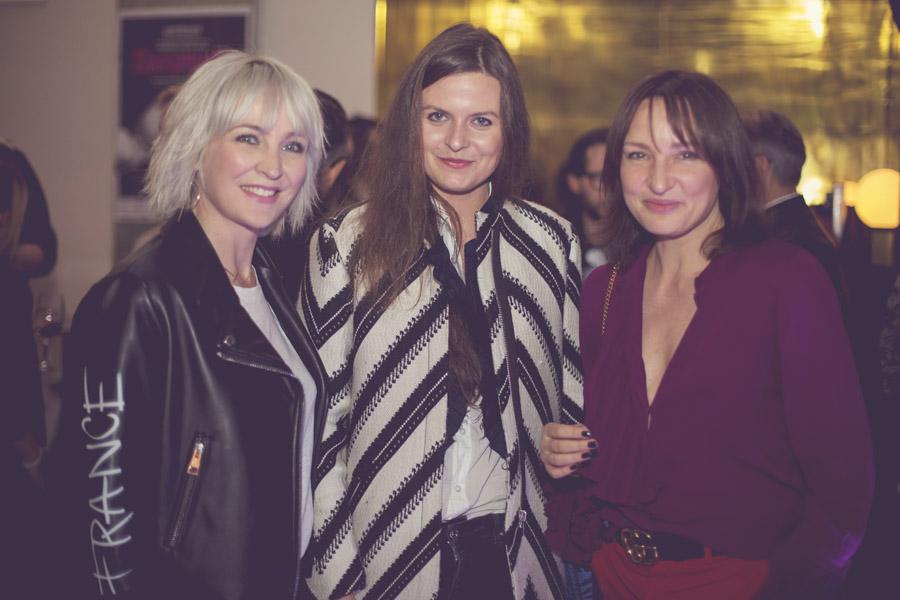Anna Puślecka, Karolina Limbach i Agnieszka Ścibior/fot. Agnieszka Taukert dla DYKF