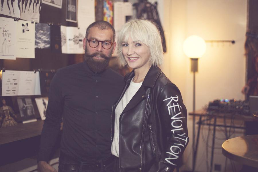 Wojtek Rostowski, twórca pierwszego w Polsce Barber Shopu/fot. Agnieszka Taukert dla DYKF