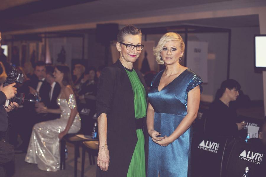 Joanna Klimas i redaktor naczelna Party i Flesz - Aneta Wikariak/fot. Agnieszka Taukert dla DYKF