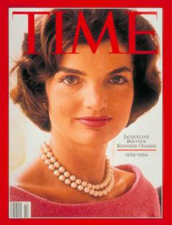 Jacqueline Kennedy Onassis na okładce Time