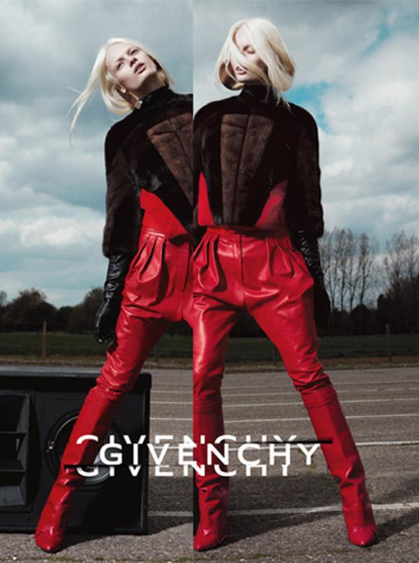 Kampania reklamowa Givenchy na sezon jesień-zima 2012