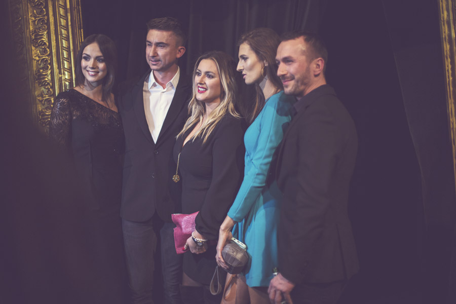 Paulina Krupińska, Marcin Paprocki, Karolina Szostak, Kamila Szczawińska i Mariusz Brzozowski/fot. Agnieszka Taukert dla DYKF