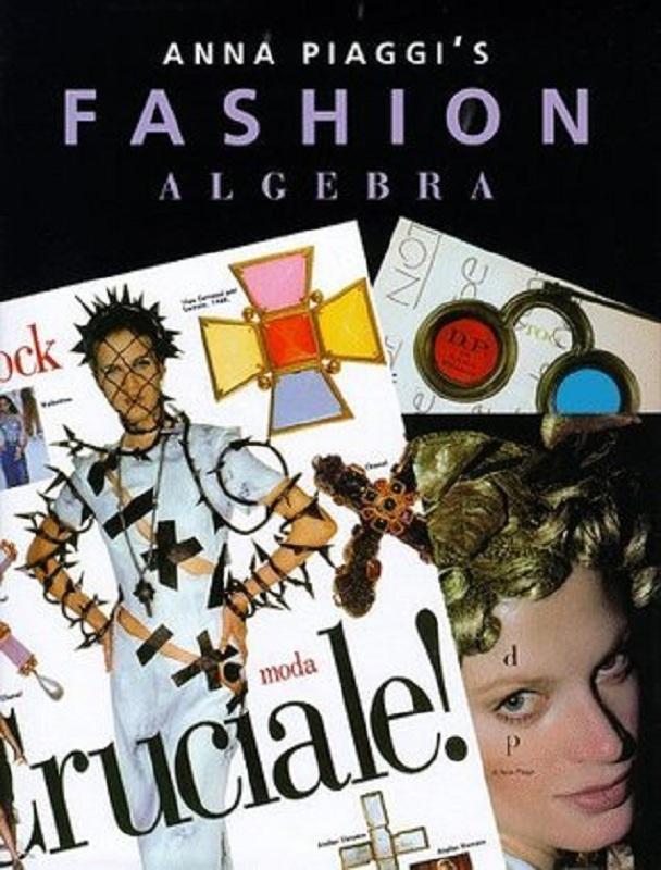 "Okładka książki autorstwa Anny Piaggi ""Anna Piaggi's Fashion Algebra"""