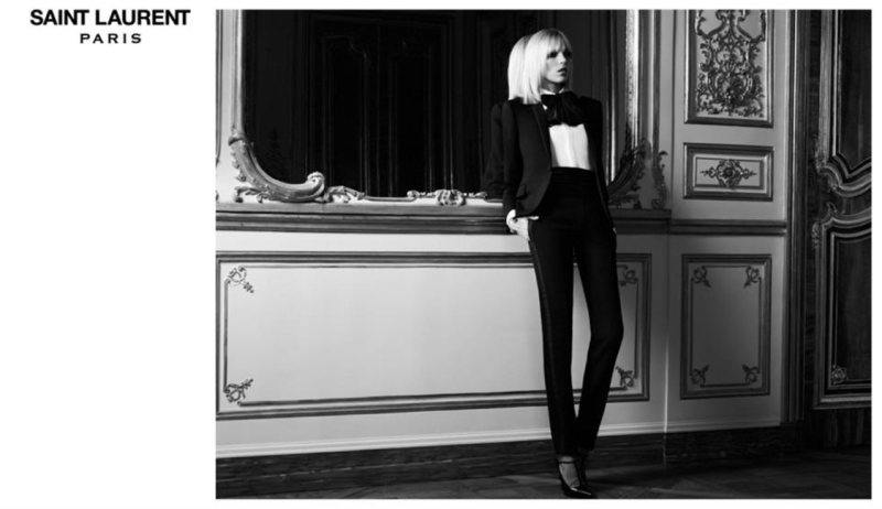 Saint Laurent Paris wiosna 2013