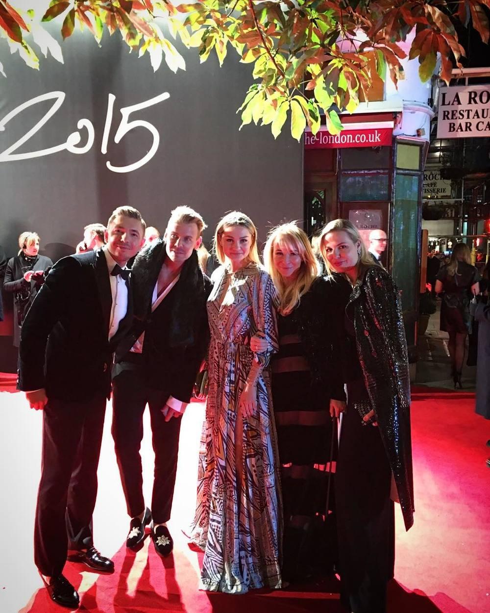 Łukasz Jemioł, Dawid Woliński, Małgorzata Socha, Joanna Przetakiewicz i Bianka Tobińska/Instagram: @joannaprzetakiewicz