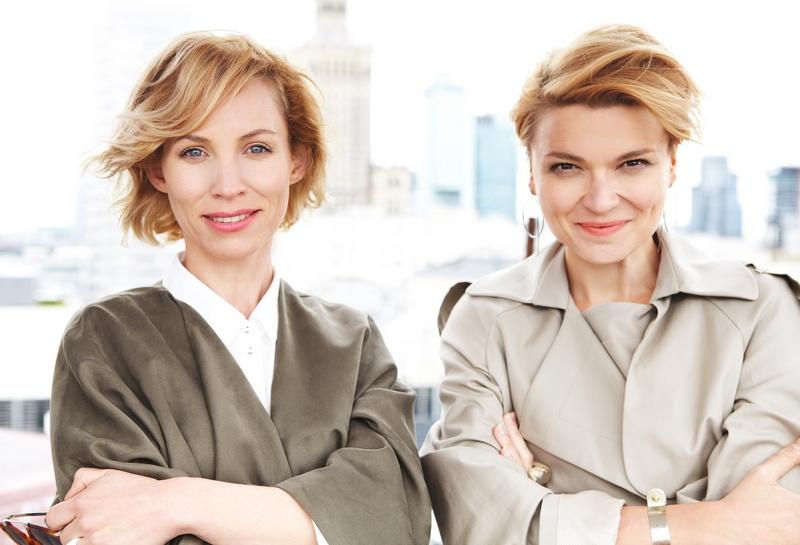 Magda Korcz i Anna Pięta, twórczynie HUSH Warsaw/fot. Szymon Brzóska dla HUSH Warsaw