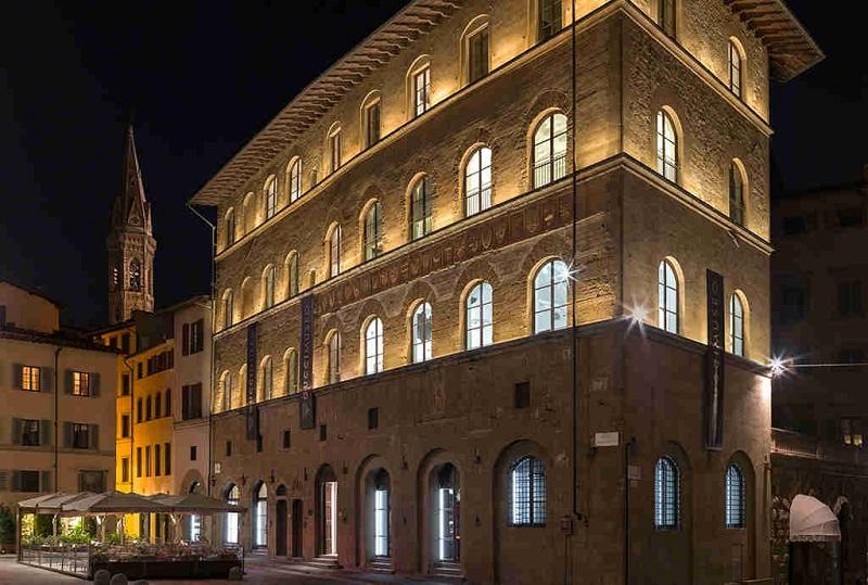 Budynek Muzeum Gucci we Florencji/fot. Muzeum Gucci
