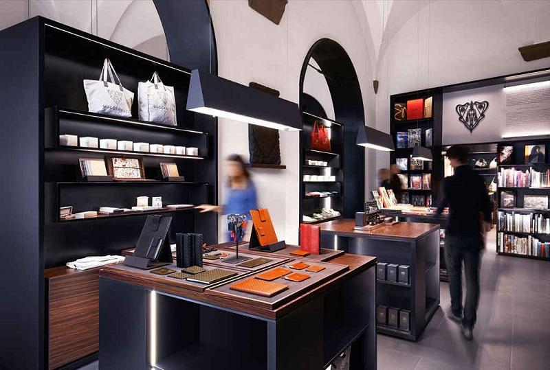 Sklep z pamiątkami w Muzeum Gucci/fot. Muzeum Gucci