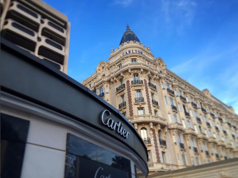 Hotel Carlton w Cannes/fot. Instagram