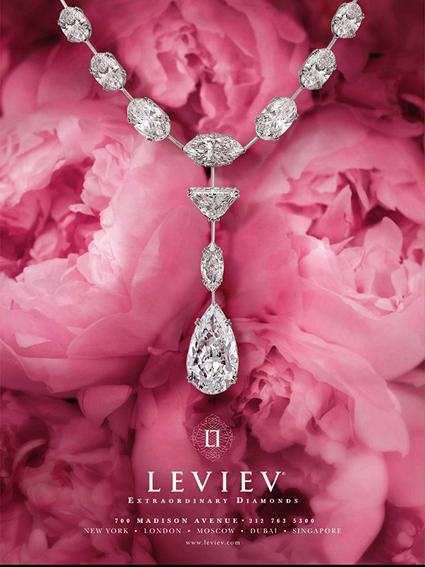 Biżuteria marki Leviev