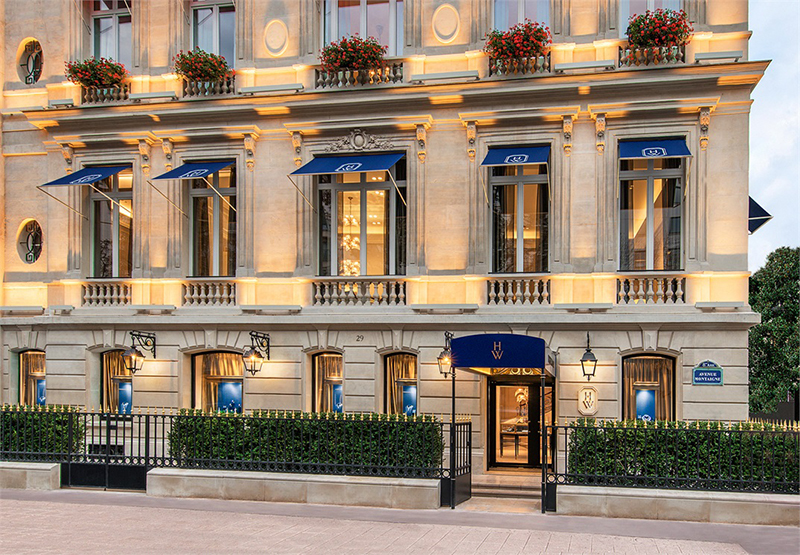 Butik Henry'ego Winstona w Paryżu/fot. Instagram