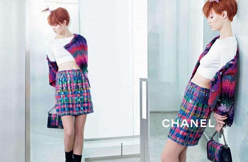 Chanel wiosna-lato 2014