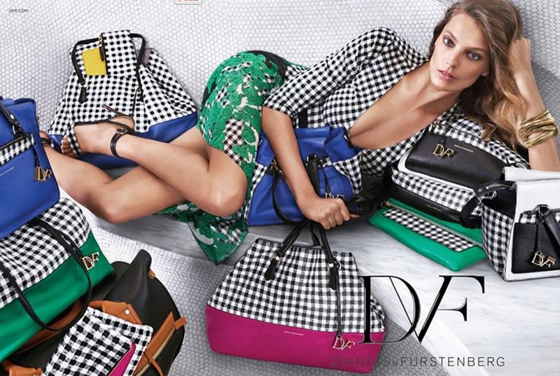 Kampania reklamowa Diane von Furstenberg na sezon wiosna-lato 2015