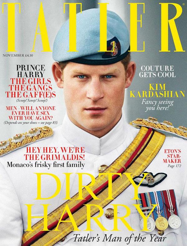 Okładka magazynu Tatler, 2012 rok