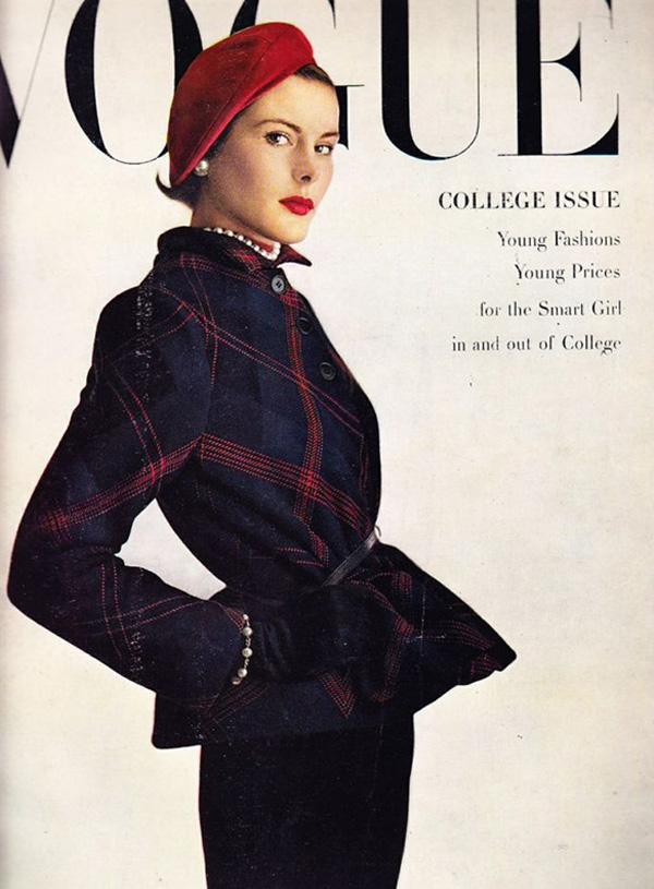 Okładka magazynu Vogue, 1948 rok