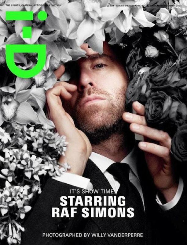 Raf Simons dla I-D Magazine