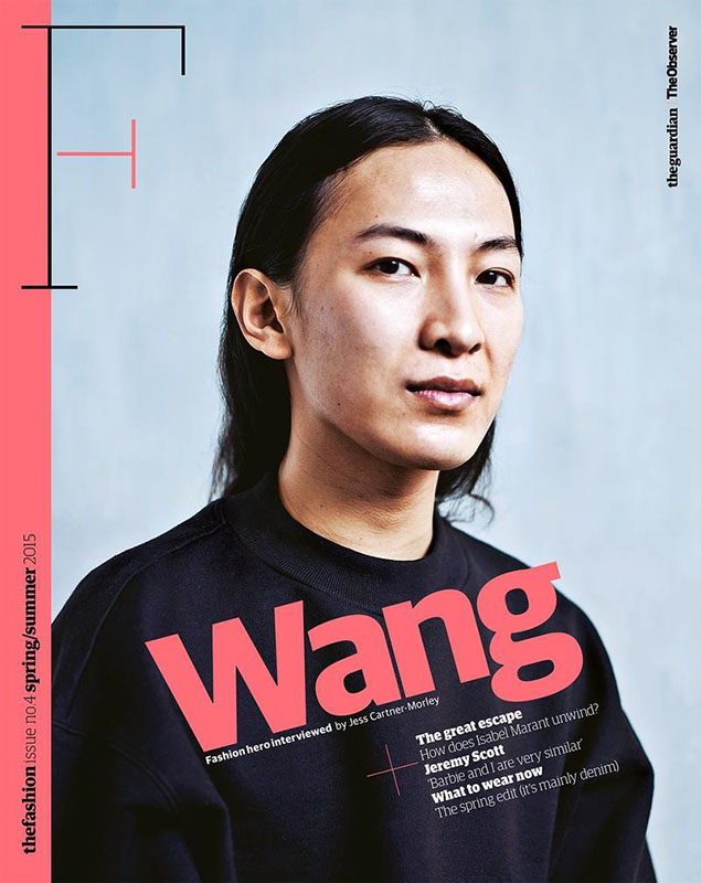 Alexander Wang dla The Guardian