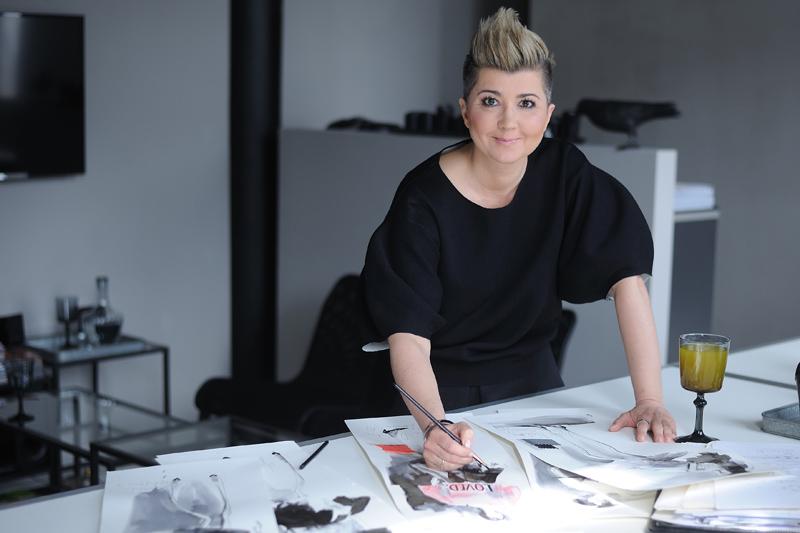 Lidia Kalita, projektantka mody/fot. Szymon/Funpix
