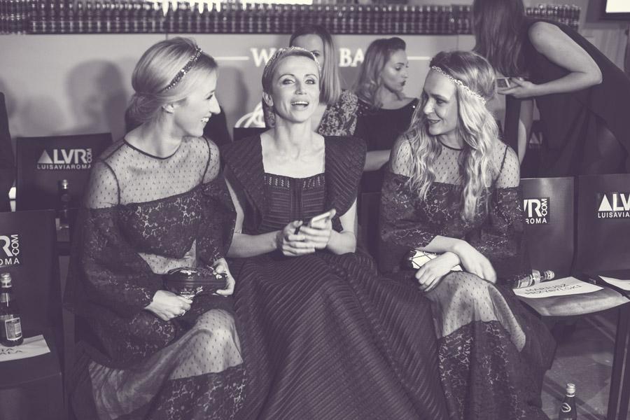 Kasia Zielińska i duet Bizuu podczas Flesz Fashion Night/fot. Agnieszka Taukert dla DYKF