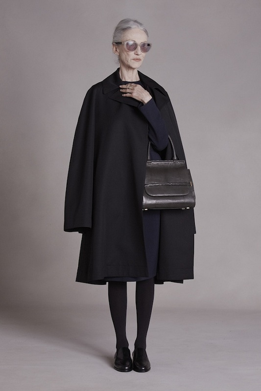 Linda Rodin w lookbooku The Row, kolekcja Pre Fall 2014