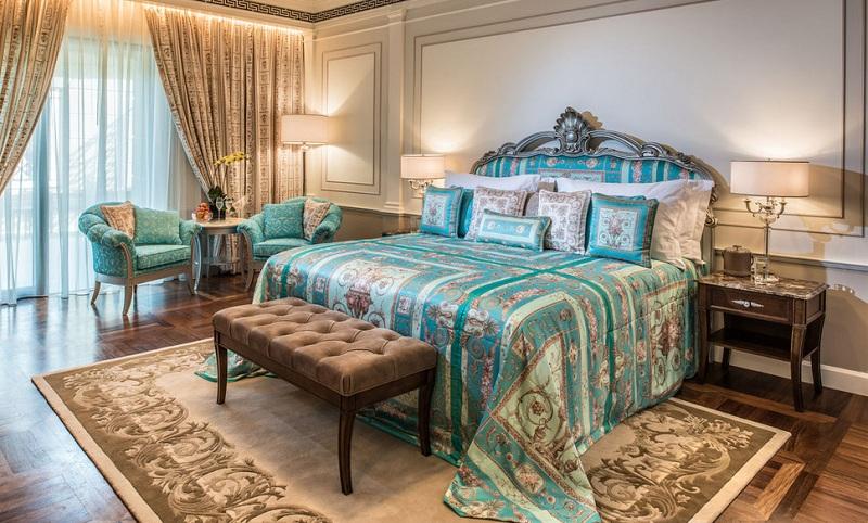 Premier room - jeden z pokoi w Palazzo Versace w Dubaju/fot. Palazzo Versace Dubai