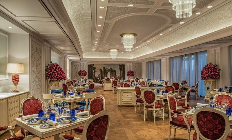 Vanitas - jedna z restauracji w Palazzo Versace w Dubaju/fot. Palazzo Versace Dubai