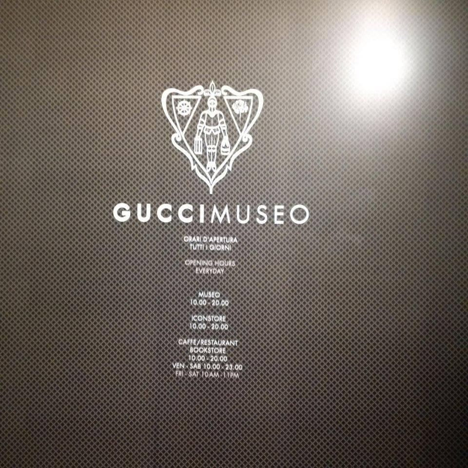 Wejście do Muzeum Gucci