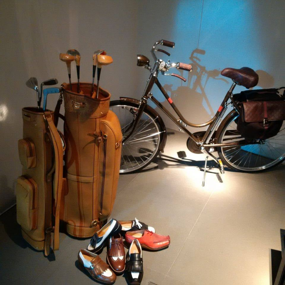Kije i torby do golfa, rower - Gucci to nie tylko ubrania